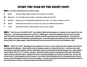 Start your year on the RIGHT foot!