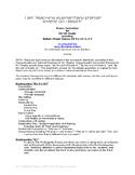 Starter Elementary Drama Curriculum (Theatre) (Theater)