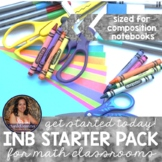Starter Pack Pages for Interactive MATH Notebooks