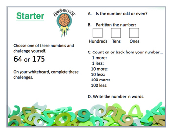 Starter: Place Value