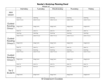 Starting A Reader's Workshop