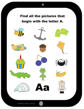 Starting Letter Identification