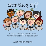 Starting Off - A First Week of School Activity