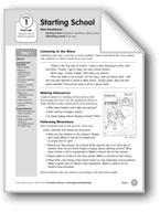 Starting School (Everyday Literacy)