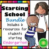 Starting School Kindergarten Bundle