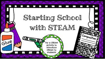 Starting School with STEAM