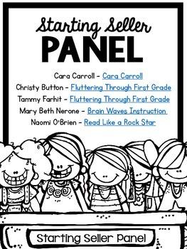 Starting Seller Panel #1 (TT09)