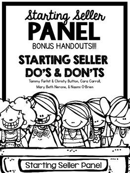 Starting Seller Panel Bonus Handouts - TpT Conference