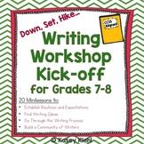 Writing Workshop Kick-off for Grades 7-8