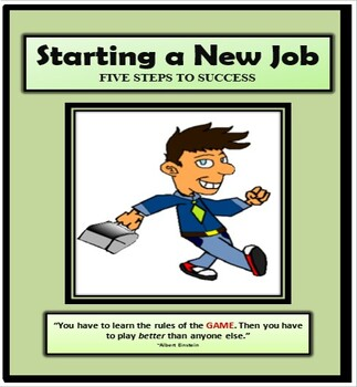 Vocational, Jobs, STARTING A NEW JOB, Employment, Career Exploration