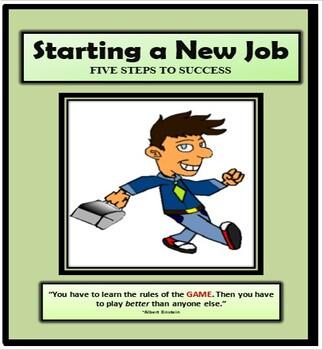 Career Readiness, STARTING A NEW JOB, Preparing for Employment, Job Skills