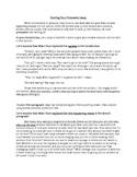 Starting a Persuasive Essay