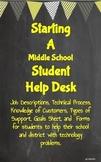 Starting a Student Help Desk - Helpdesk STEM