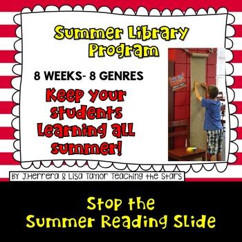Starting a Summer Library Program: 8 Weeks 8 Genres!
