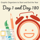 Starting and Ending the School Year - Graphic Organizer Bundle.