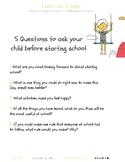 Starting school Handout - Positive Intervention for Parents