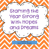 Starting the Year Strong With Hopes and Dreams FREE