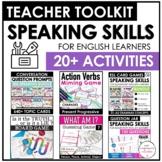 ESL Speaking Skills Starter Kit | English Games, Activitie
