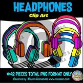 Headphones Clip  Art for Teachers