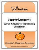 Stat-O-Lanterns - A High School Halloween Activity