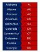 State Abbreviations Match Game