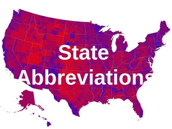 State Abbreviations PPT Presentation