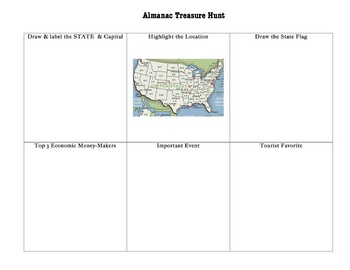State Almanac Treasure Hunt