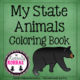 State Animals Coloring Book