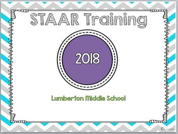 State Assessment (STAAR) Teacher Training Power Point Presentation 2018  UPDATE
