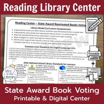 State Awards Book Voting Centers and Promotion Signs
