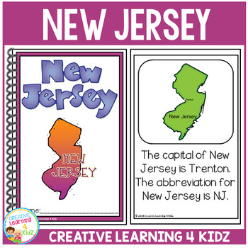 State Book New Jersey