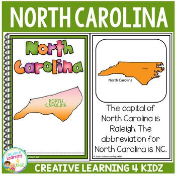 State Book North Carolina
