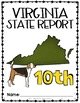 Virginia State Book {Map, Bird, Flag, Flower, Landmark, An