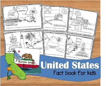 US State Book for Kids
