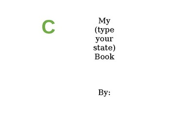 State Booklet Project