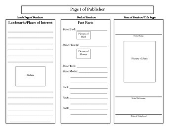 State Brochure - Research Planning Page