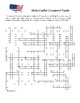 State Capital Crossword Puzzle