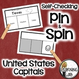 State Capitals - Self-Checking Social Studies Centers