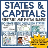 U.S. States and Capitals Bundle