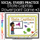 State Capitals Digital Powerpoint Game #3