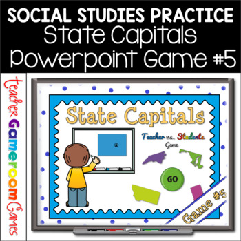 State Capitals Digital Powerpoint Game #5