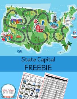 State Capitals FREEBIE