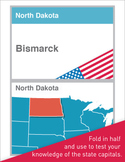State Capitals Flash Cards / Test Cards