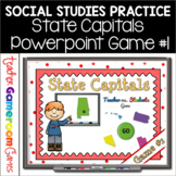 State Capitals Digital Powerpoint Game #1