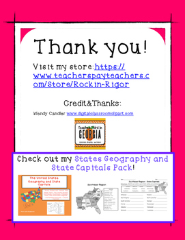 State Capitals - Test