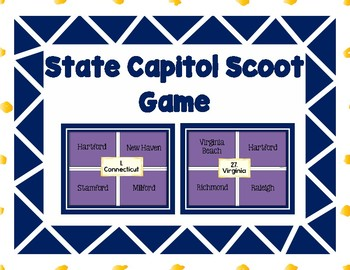 State Capitol Scoot Game