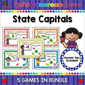 State Capitals Bundle