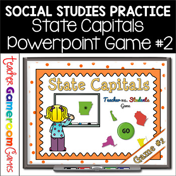 State Capitals Digital Powerpoint Game #2