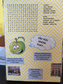 State Cereal Box Project