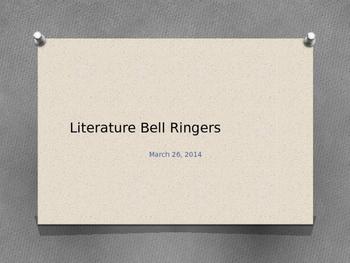 State ELA Test Prep: Propaganda Techniques Bell Ringers